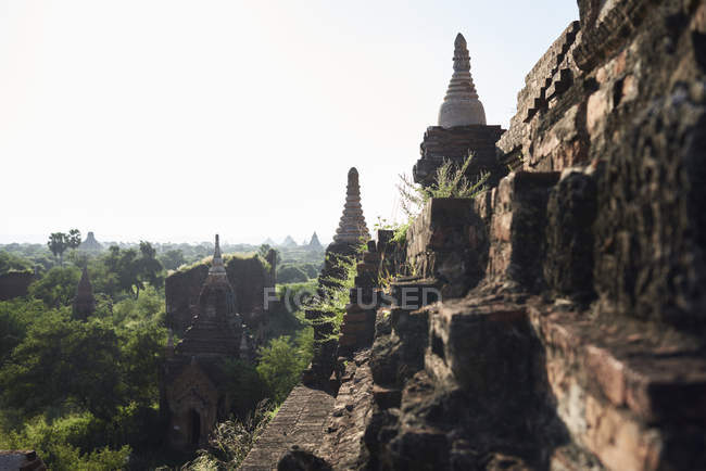 Myanmar, archaelogical site of Bagan — Stock Photo