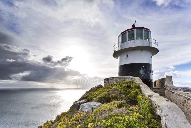 Africa, South Africa, Western Cape, Cape Town, Cape of good hope, Cape Point, lighthouse - foto de stock