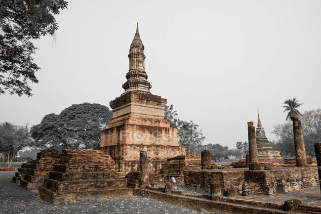 Thailand Sukhothai Sukhothai Historical Park Pagoda Unesco World Heritage Travel Stock Photo 265349838