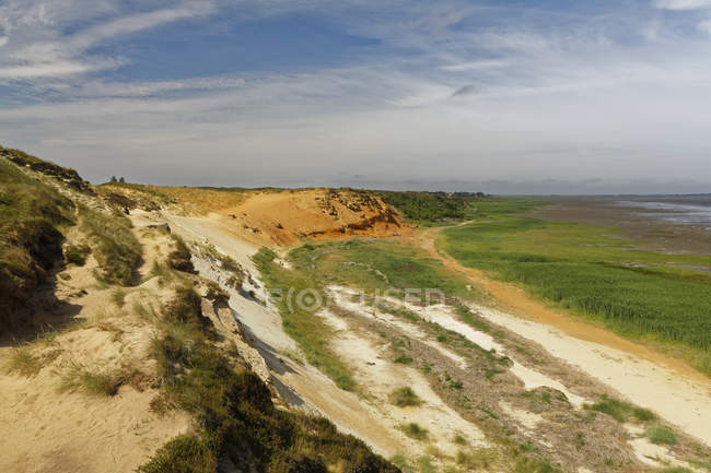 Germany, Noth Frisia, Sylt, Cliff coat near Morsum — Stockfoto