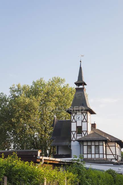 Germany, Leipzig, 'Deutsches Kleingsrtner Museum' at daytime — Stock Photo