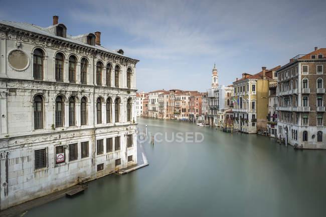 Италия, Венеция, городской пейзаж с Гранд-каналом — стоковое фото