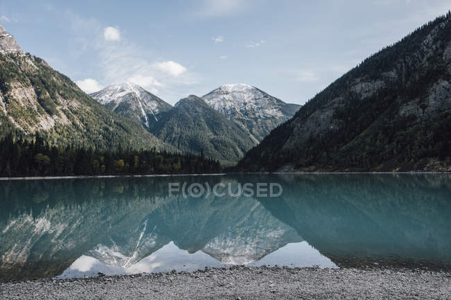 Kanada, British Columbia, Rocky Mountains, Mount Robson Provincial Park, Fraser-Fort George H, Kinney Lake — Stockfoto
