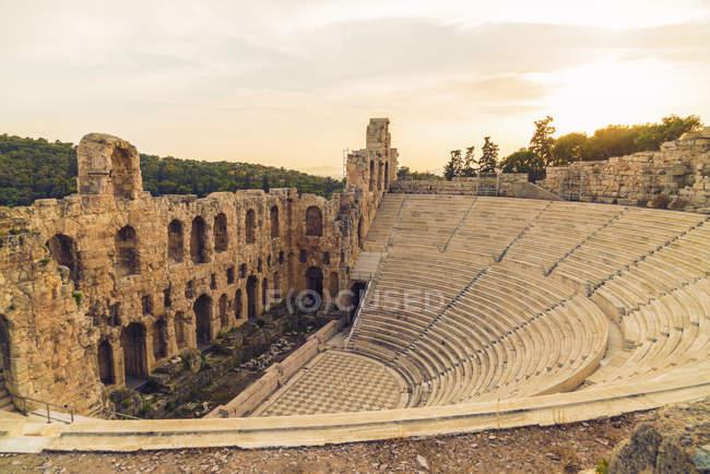 Greece, Athens, Acropolis, Theatre of Dionysus — Stock Photo