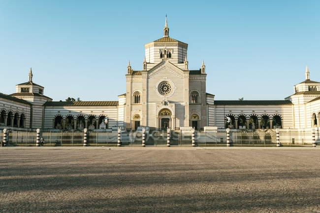 Italy, Lombardy, Milan, Cimitero Monumentale — Stock Photo