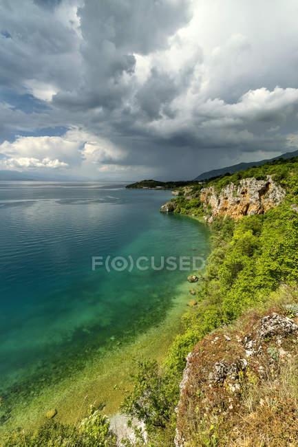 Macedonia, Comune di Ohrid, Ohrid, Baia delle Ossa — Foto stock