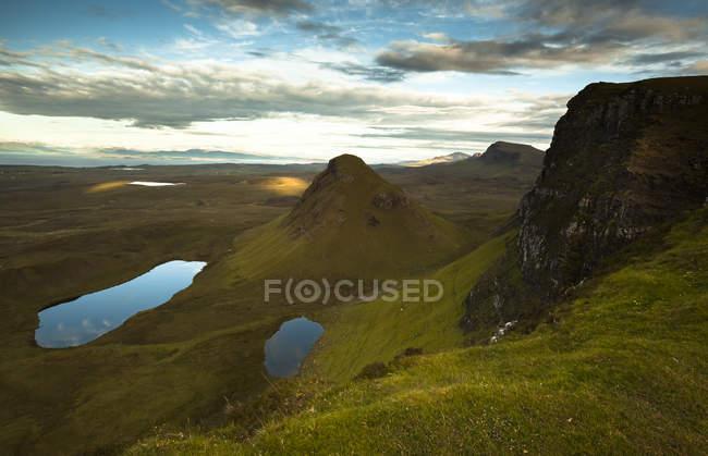 UK, Scotland, Isle of Skye, Quiraing — Stock Photo