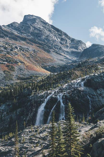 Kanada, britisch columbia, columbia-shuswap a, glacier nationalpark, sir donald peak — Stockfoto