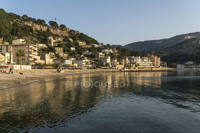 Spain, Balearic Islands, Mallorca, Port de Soller, Platja des Traves — Stock Photo