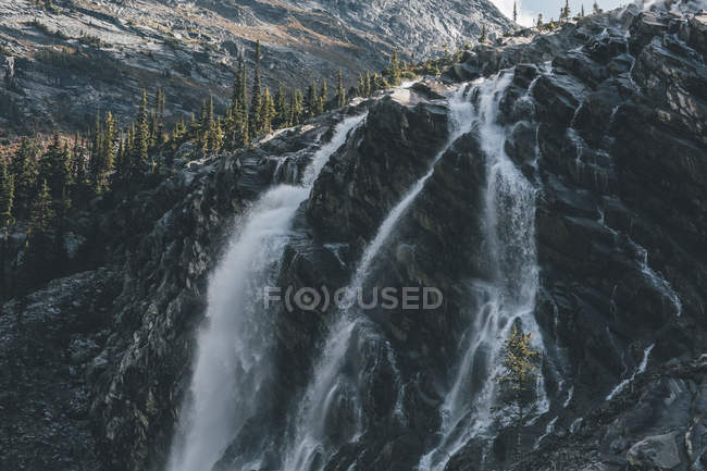 Canada, British Columbia, view of waterfall — Stock Photo