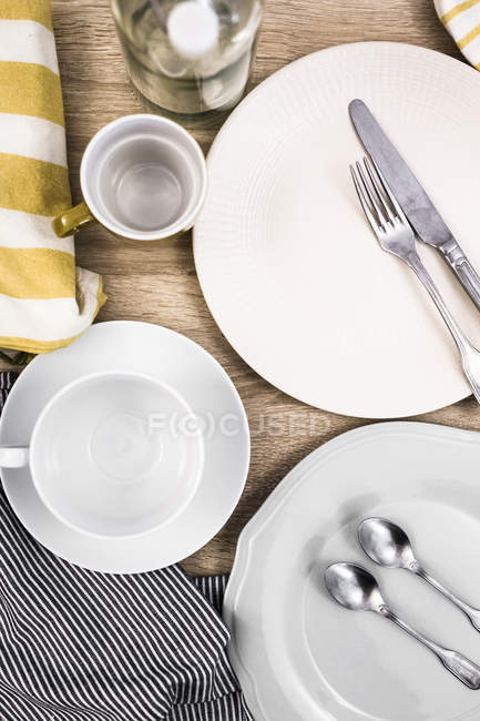 Close up of Laid table — Stock Photo
