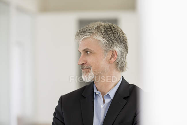 Portrait d'un homme d'affaires mature — Photo de stock