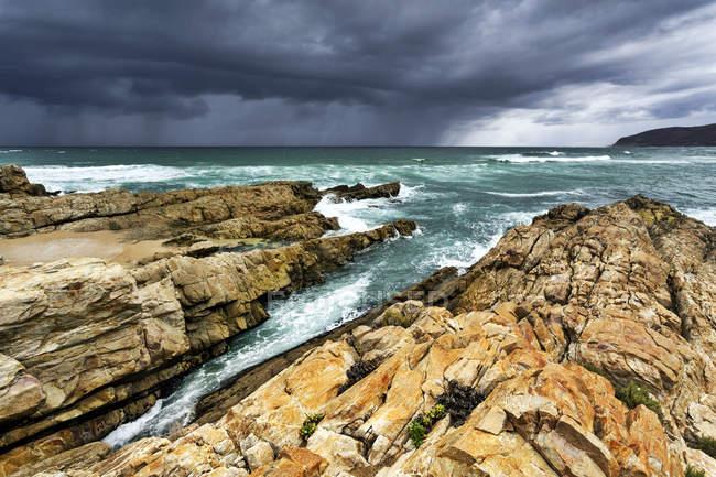Afrique, Afrique du Sud, Western Cape, Plettenberg Bay, Robberg Nature Reserve — Photo de stock