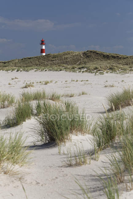 Germany, North Frisia, Sylt, Lighthouse List East — Stock Photo