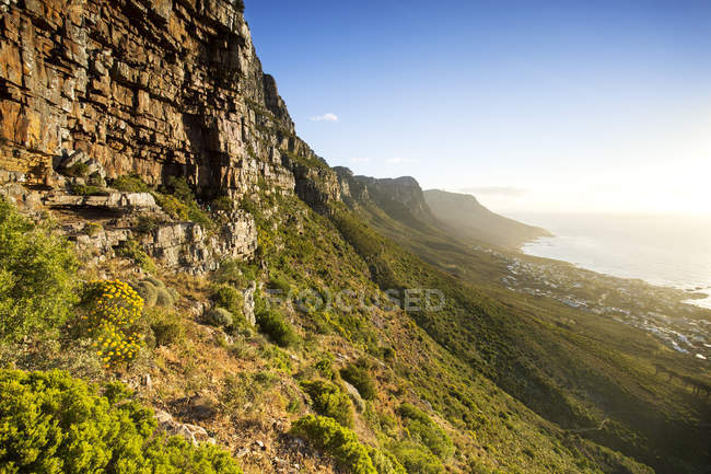 Африка, Південна Африка, Західна Капська провінція, Кейптаун, столова гора — стокове фото