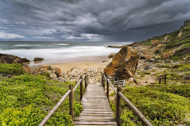 África, África do Sul, Western Cape, Plettenberg Bay, Robberg Nature Reserve — Fotografia de Stock