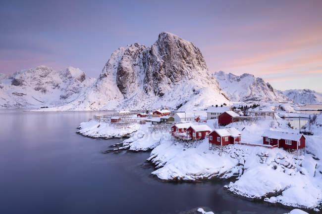 Norway, Lofoten, Hamnoy at daytime — Stock Photo
