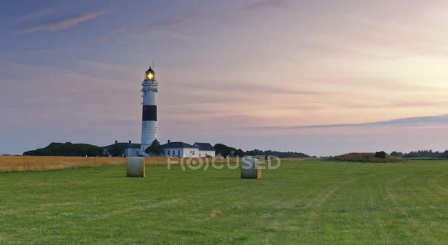 Germany, North Frisia, Sylt, Kampen lighthouse — Stock Photo