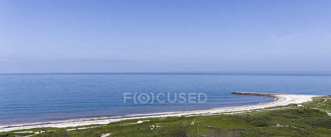 Німеччина, Шлезвіг-Гольштейн, Гельголанд, панорамний вид на пляж — стокове фото
