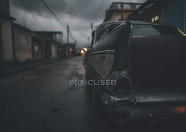 Cuba, Baracao, Close-up of a vintage car - foto de stock