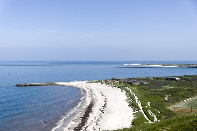 Німеччина, Шлезвіг-Гольштейн, Гельголанд, пляж — стокове фото