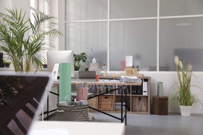 Interior of a business loft office — Stock Photo