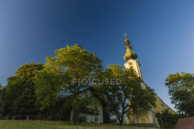 Austria, Alta Austria, Tumeltsham, Chiesa di San Vito — Foto stock