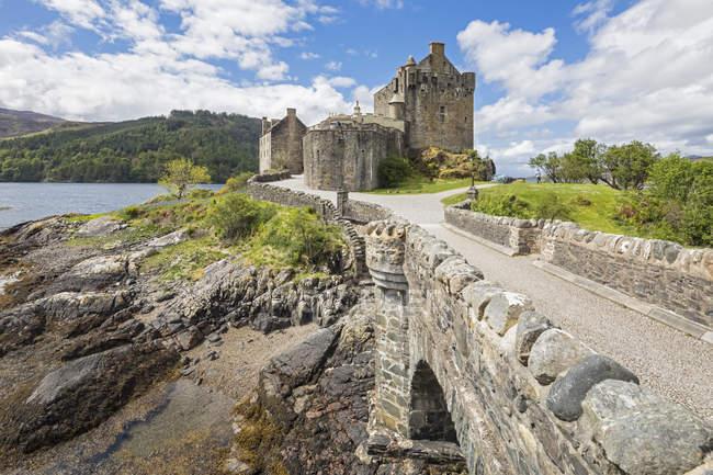 Uk, Schottland, Dornie, Loch Duich, Eilean Donan Castle — Stockfoto