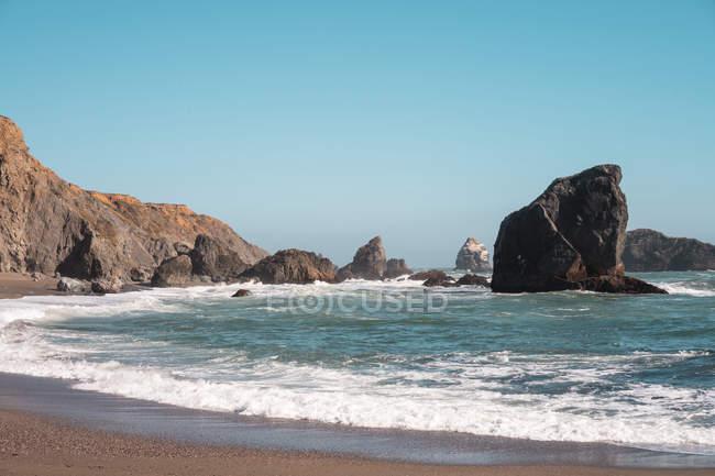 USA, California, West Coast, bay — стокове фото