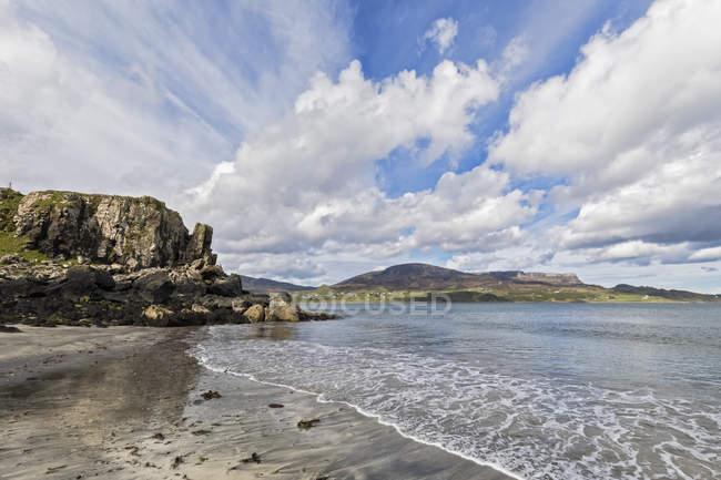 Großbritannien, Schottland, innere Hebriden, Insel Skye, staffin bay, staffiin beach — Stockfoto