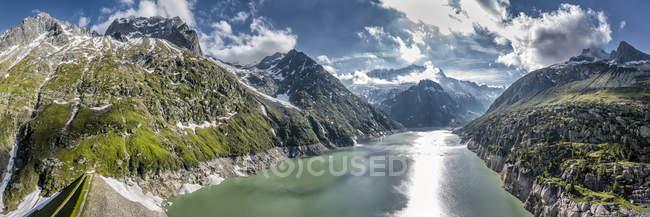 Suisse, canton d'Uri, Goeschenen, Goescheneralpsee — Photo de stock