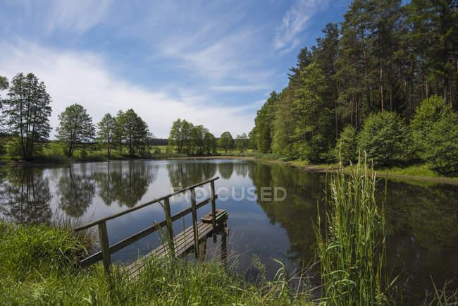 Germany, Upper Palatinate, Russweiher — Stock Photo