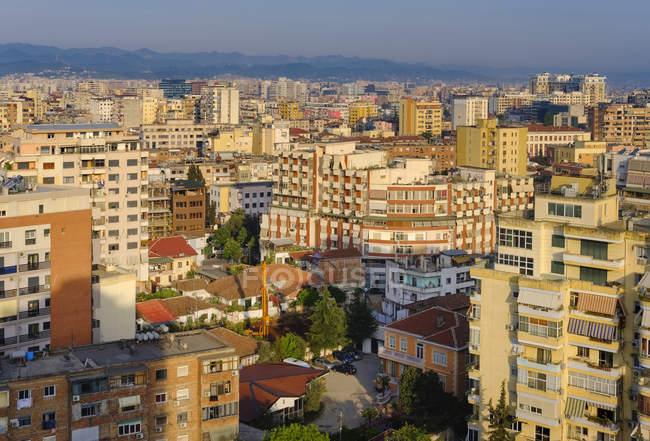 Albania, Tirana, city center at daytime — Stock Photo
