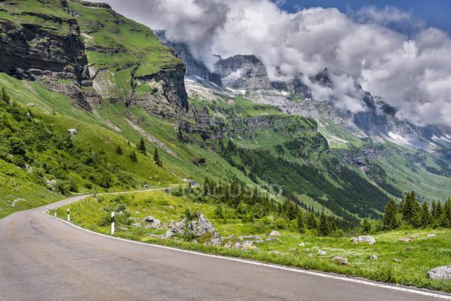 Svizzera, Cantone di Glarus, Alpi di Glarus, Linthal, Passo del Klausen — Foto stock