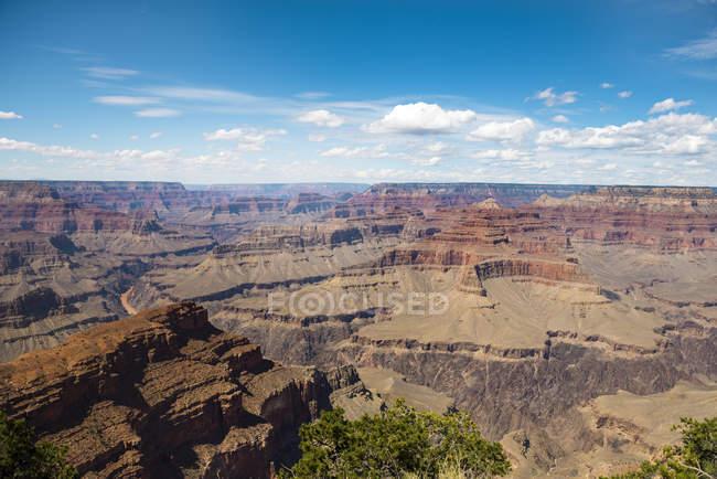 США, Аризона, Величний Національний Парк Глибоої ущелини, Велична Глибоа ущелина, Південний обід — стокове фото