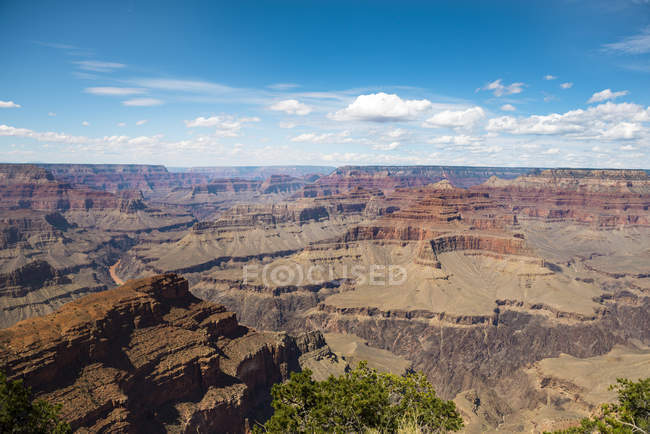 EUA, Arizona, Parque Nacional da garganta grande, garganta grande, borda sul — Fotografia de Stock