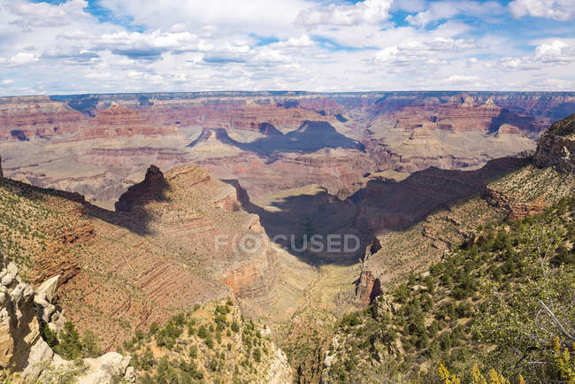 EUA, Arizona, Grand Canyon National Park, Grand Canyon, South Rim — Fotografia de Stock