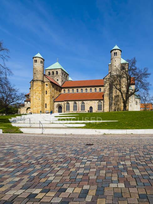 Alemania, Lowe Sajonia, Hildesheim, Iglesia de San Miguel - foto de stock