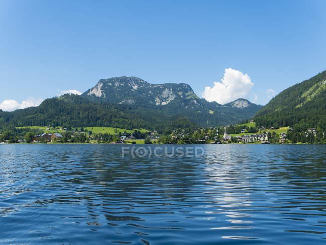 Austria, Styria, Altaussee, Altausseer See - foto de stock