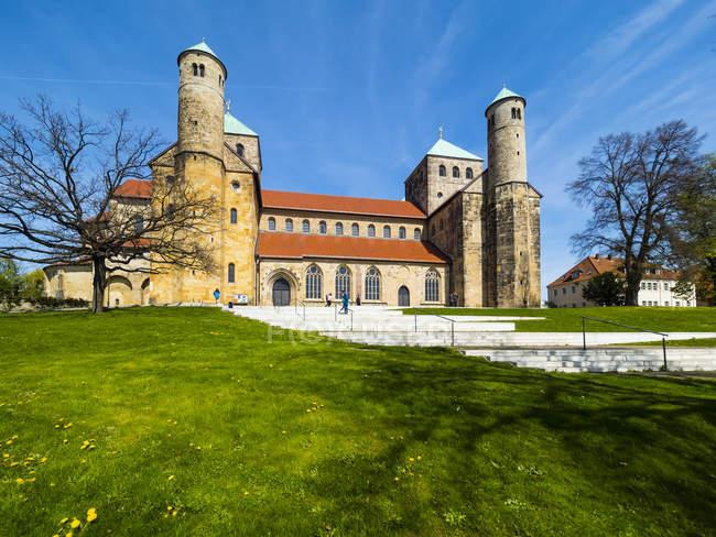 Allemagne, Lowe Saxe, Hildesheim, église Saint-Michel — Photo de stock