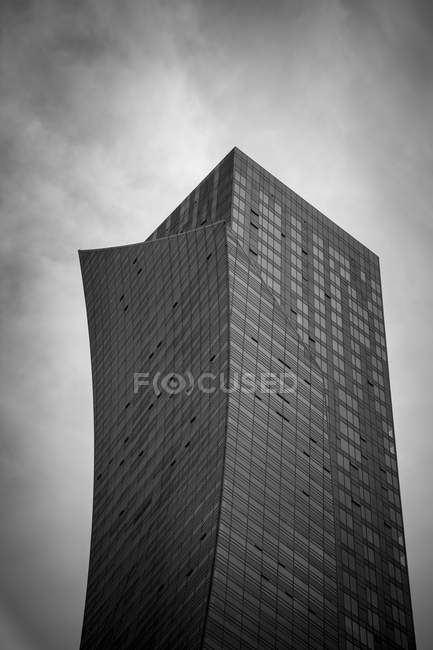 Poland, Warsaw, modern apartment tower — Stock Photo