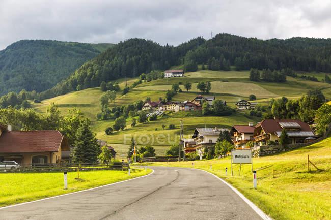 Австрия, Каринтия, Катшберг, Мюльбах — стоковое фото