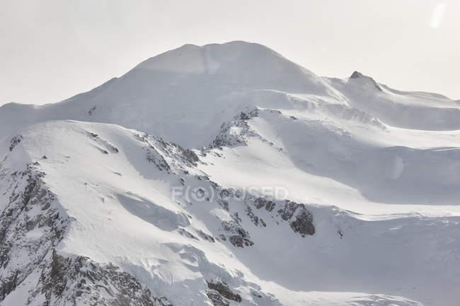 EUA, Alaska, Parque Nacional de Denali, vista aérea de Mt. McKinley — Fotografia de Stock