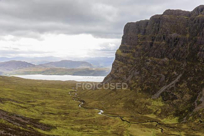 Reino Unido, Escócia, Wester Ross, Península de Applecross, passagem da montanha de Bealach na BA — Fotografia de Stock