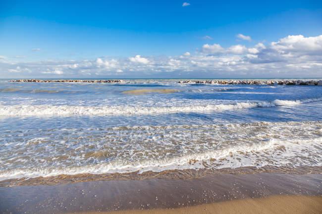 Italy, Molise, Termoli, Adriatic Sea, beach — Stock Photo