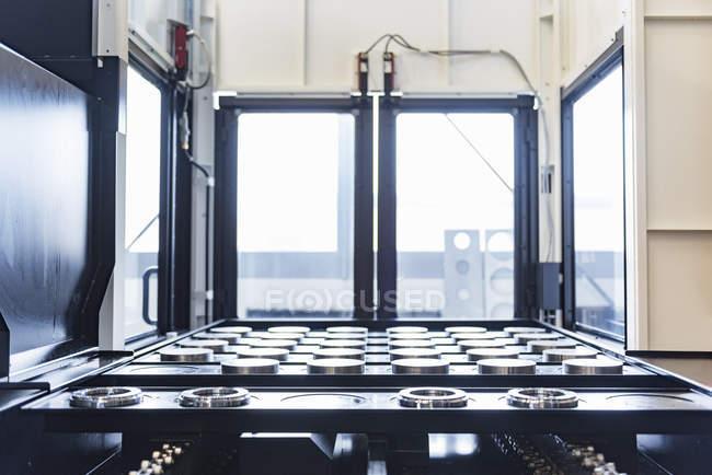 Machine in factory shop floor — Stock Photo