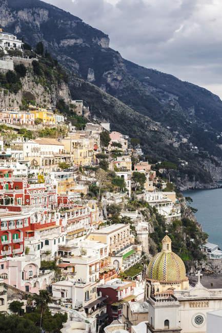 Italien, Kampanien, Amalfiküste, Positano — Stockfoto