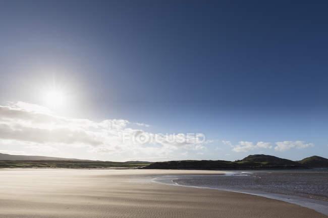 Royaume-Uni, Écosse, Highlands écossais, Loch Ewe, Poolewe, Firemore Beach — Photo de stock