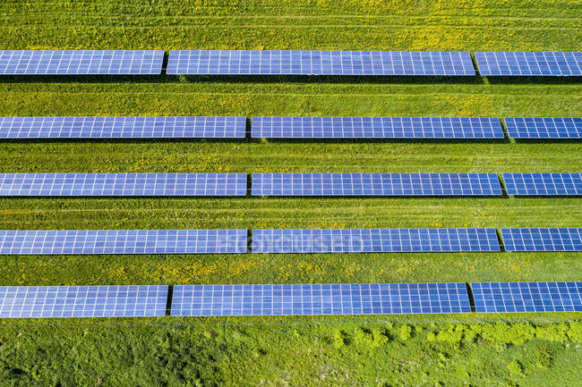Germany, Baden-Wuerttemberg, solar plant — Stock Photo