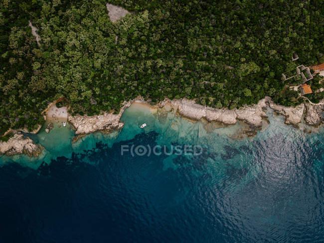 Croazia, Cres, Costa Adriatica — Foto stock